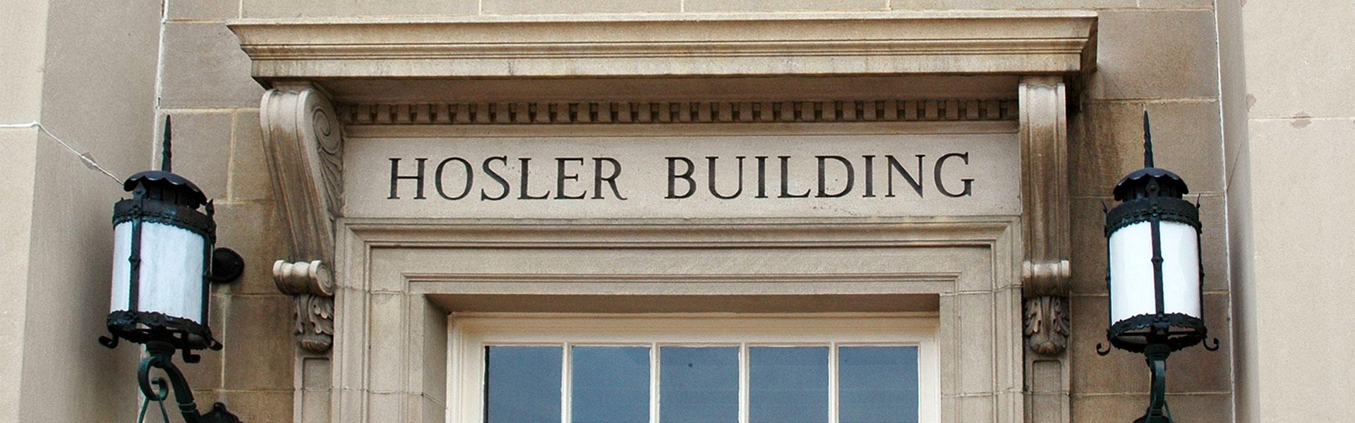 Hosler building