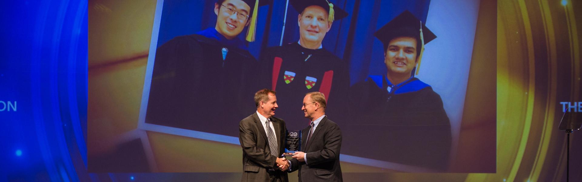 Faculty Receiving Award