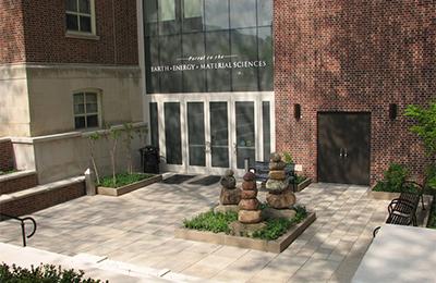 Deike building entrance