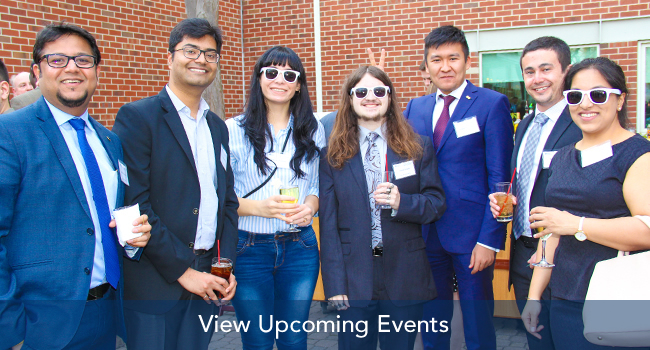 Students at Event