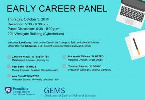 Early Career Panel Info Sheet