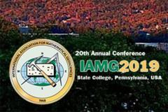 IAMG 2019 logo